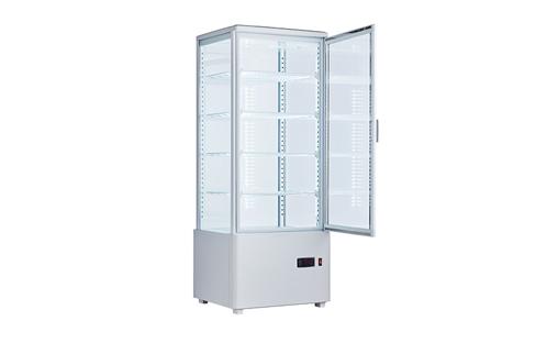 冷蔵4面ガラスショーケース 100ℓ